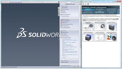 solidworks tutorial lessons learn more about solidworks using the built in tutorials
