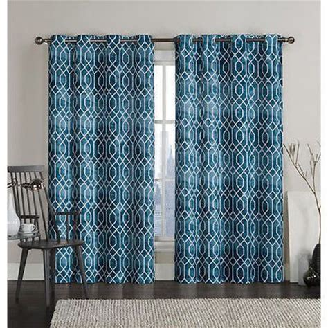 Light Teal Valance New Set 2 Curtains Panels Drapes 84 Grommet Blackout Light