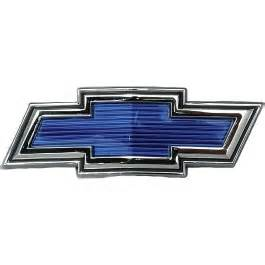 chevy truck emblem blue bowtie 1969 1970