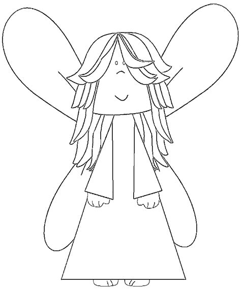 cute fairy coloring coloring pages