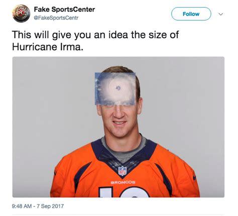 Peyton Manning Forehead Meme - hilarious hurricane irma memes folio weekly