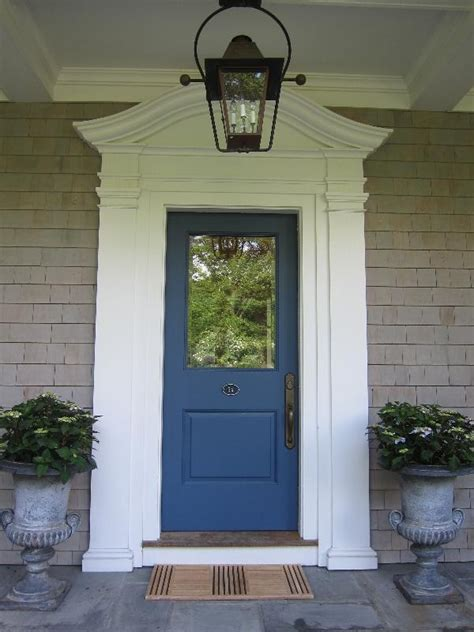 colonial style front doors blue door nantucket style colonial decorating stuffs