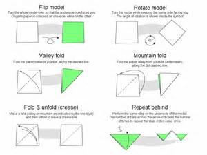 Origami Basic Folds - martin s origami basics