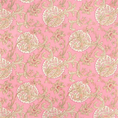 Flower Upholstery Fabric by Rosewater Pink Floral Upholstery Fabric