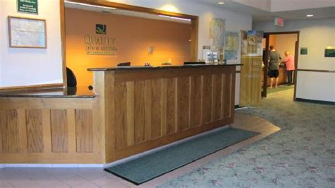 comfort inn stoughton wi check in desk picture of quality inn suites of