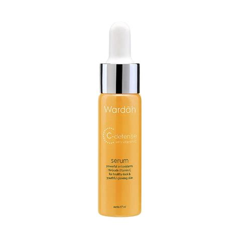 Serum Pencerah Wajah Wardah jual wardah c defense vitamin c serum wajah 17ml