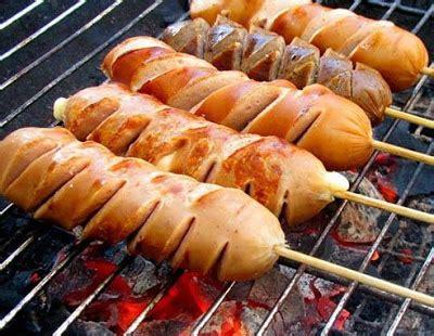 resep sosis bakar spesial  praktis resep masakan