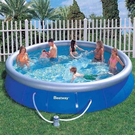piscina best way piscina infl 225 vel bestway 12 362 litros bomba filtrante