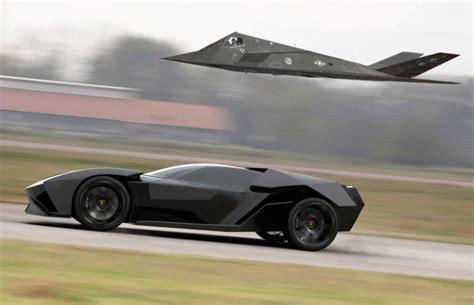 Lamborghini Bat by This Lamborghini Is The Batmobile Of Your Nightmares Driving