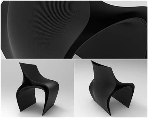 3d printed chair zaha 3ders org 3d printed chairs by zaha hadid