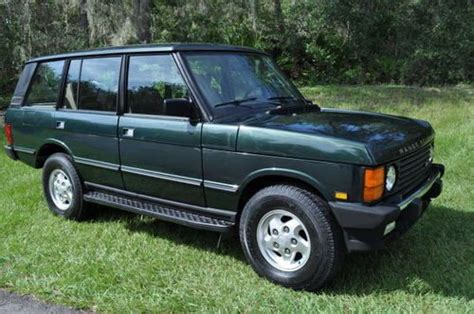 range rover classic lwb for sale purchase used 1995 range rover classic lwb in brooksville