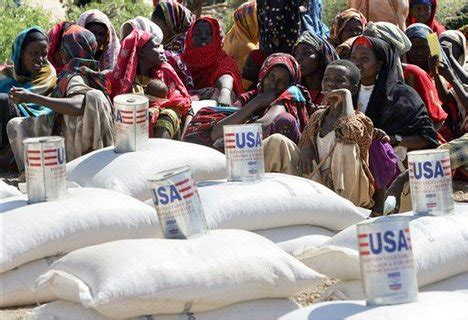 cuisine aid government uses aid as political tool report