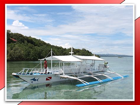 boat shop philippines sipaway divers dive shop scuba diving in the philippines