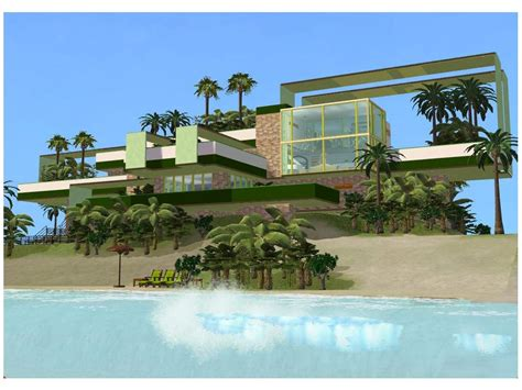 home decor modern style beautiful modern house designs for home design sims 2 modern green house by