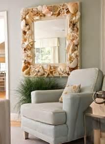 spiegel dekoration maritime deko mit muscheln selber machen 20 bastelideen