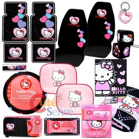 1 Set Cover Hello Pink hello car seat covers auto accessories set 15pc ebay