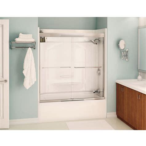 bathtubs rona quot aura quot bathtub shower door rona