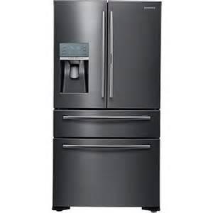 Samsung Cu Ft French Door Refrigerator - samsung 22 cu ft french door food showcase refrigerator black stainless ste 8101325 hsn