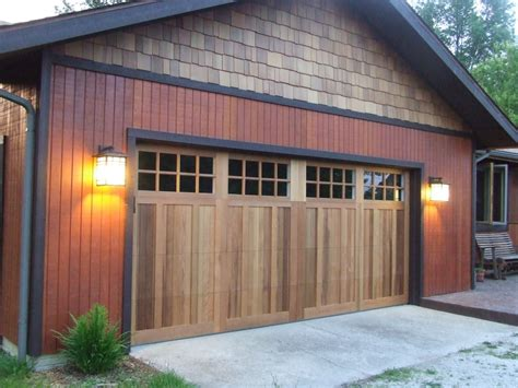 Steel Garage Doors That Look Like Wood Garage Doors In Garage Door Wood Look