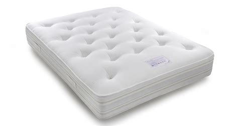 silk latex memory mattress double 4 ft 6 mattress silk
