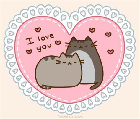 kawaii valentines day gif cat adorable kawaii cats cat gif