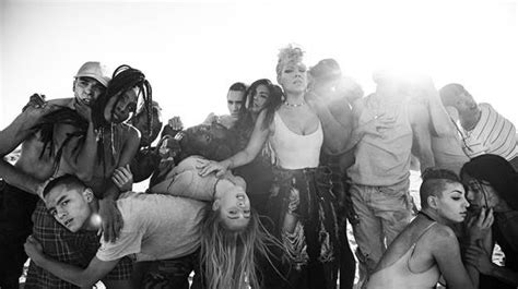 pink releases moving  video