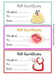 anniversary gift certificate template search results for blank certificate template free
