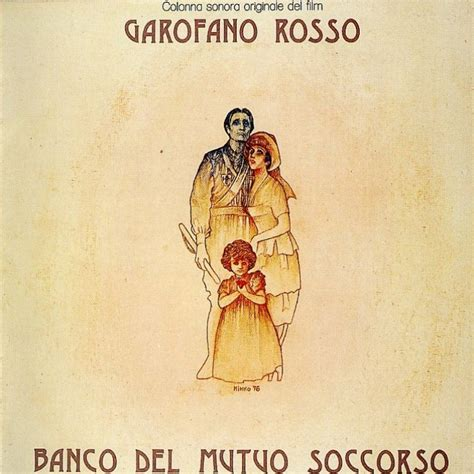 garofano rosso banco copertina cd banco mutuo soccorso garofano rosso