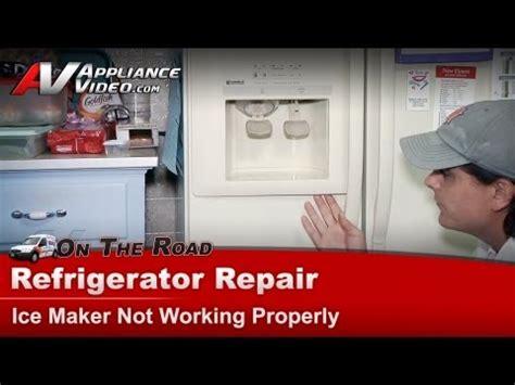 Kenmore Refrigerator   Ice maker water dispenser not