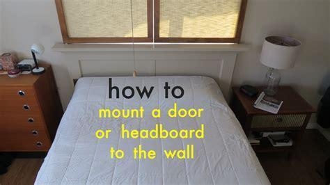 easily attach  headboard   wall   french