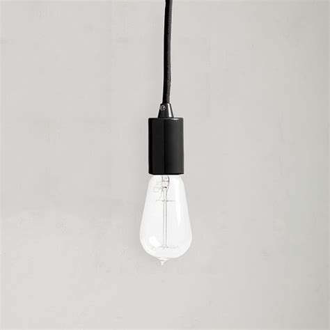 Hanging Light Socket by Single Socket Pendant Modern Pendant Lighting By