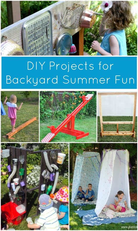 how to make your backyard fun fun diy crafts for summer etikaprojects com do it