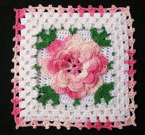 crochet pattern irish rose crochet irish rose granny square recent photos the