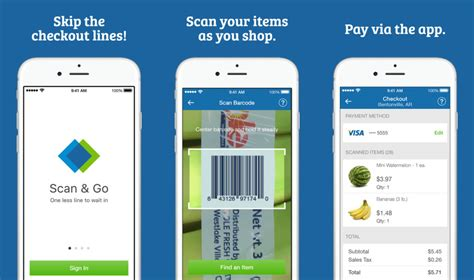 go to app sam s club scan go app scan items while shopping pay