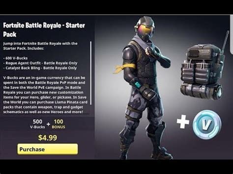 fortnite rogue new fortnite skins rogue starter pack for free