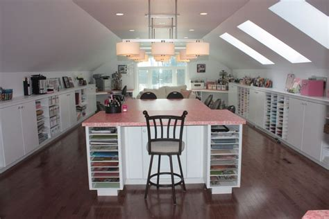 attic craft room ideas pin by bass on home