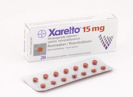 Obat Xarelto 15 Mg xarelto 15 mg f 246 rpackning bayer ab