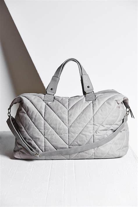 Quilted Weekender Bag by Bdg Quilted Weekender Bag In Gray Lyst