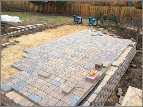Home Depot Pavers Patio Patio Paver Kits Home Depot Patios Home Decorating Ideas Lrallrpa8j