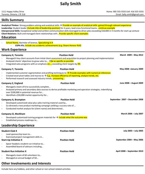 Consulting Resume by How I Prepared My Student Resume For A Career In