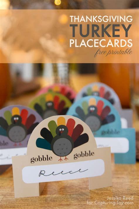 thanksgiving place card ideas  happy scraps