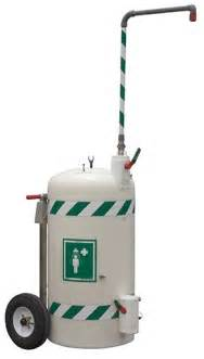 mobile self contained emergency safety shower std j 40k