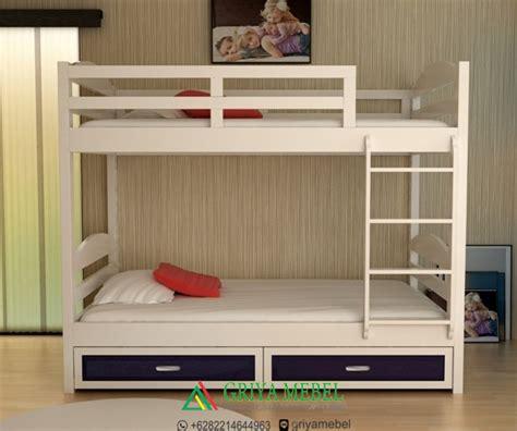 Ranjang Bertingkat tempat tidur anak bertingkat grime griya mebel