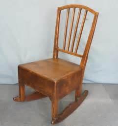 elm nursing rocking chair antiques atlas