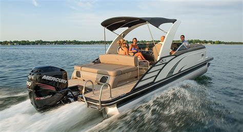 luxury pontoon boat brands 2017 qx25 swingback fiberglass pontoon boats by bennington