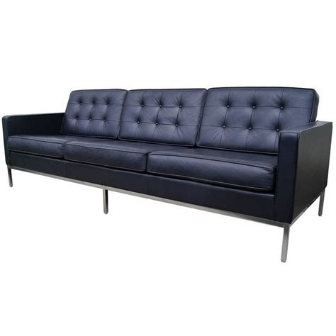 1000 ideas about blue leather sofa on leather