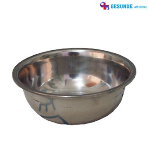 Mangkok Stainless 20cm harga baskom stainless mangkuk besi mangkok stainless steel baskom waskom toko medis