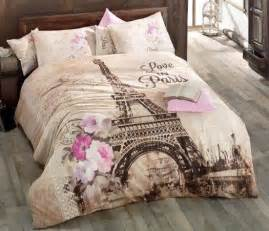 eiffel tower bedding comforter set