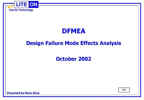 design failure mode effect analysis ppt 品质 dfmea design failure mode effects analysis 英文 ppt word