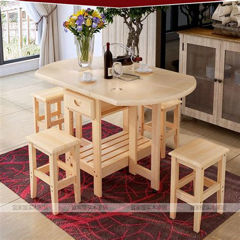 Solid Pine Dining Furniture by Solid Pine Wood Semi Circle Fold Able Coffee Dining Table